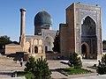 Gur-e-Amir Mausolueum - Samarkand - Uzbekistan (7488414078).jpg