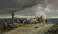 Gustav Adolf Friedrich - Fuhrwerk im Sturm (1852).jpg