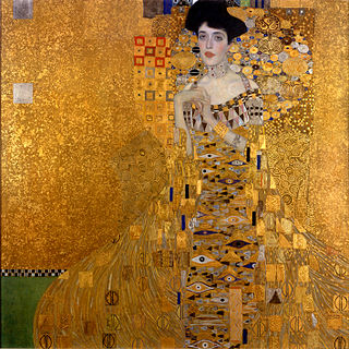 <i>Portrait of Adele Bloch-Bauer I</i> painting by Gustav Klimtf