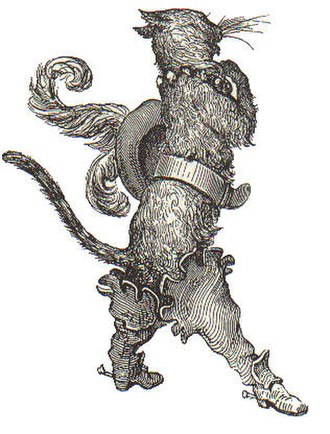 Adaptations of Puss in Boots - Gustave Doré's 19th-century engraving of le chat botté