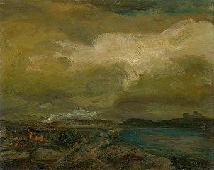 Landscape during Storm