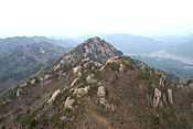 Gwaneum Peak at Songnisan.jpg