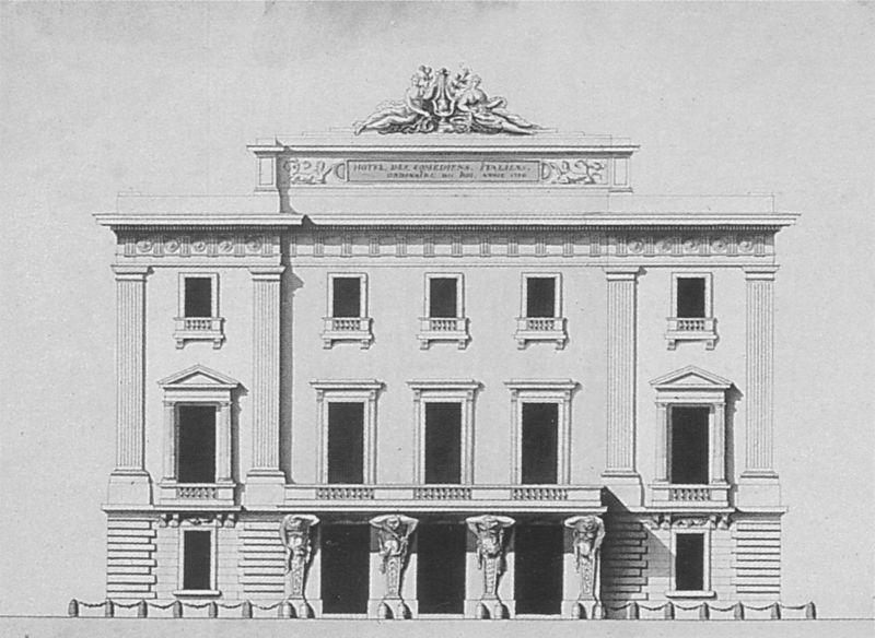 Fichier:Hôtel de Bourgogne, siège de la Comédie Italienne - Parouty 1998 p14.jpg