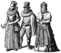 Högtidsdräkter från Bremen under 1500-talet, Nordisk familjebok.png