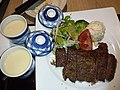 HK 中環 Central The L-Place shop 大戶屋日本餐廳 Ootoya Japanese Restaurant food dinner beef steak May 2019 SSG 06.jpg