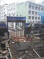 HK 灣仔 Wan Chai 萃峰 The Oakhill 活道 建築地盤 Wood Road construction site Oct-2010.JPG