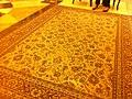 HK Sai Ying Pun Ramada Hotel lobby hall carpet Oct-2011.jpg