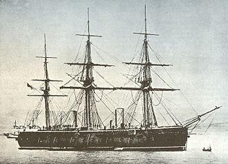 HMS Ocean (1862) - Image: HMS Ocean (1862)