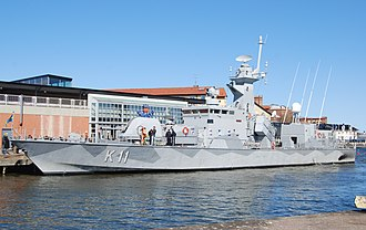 Stockholm-class corvette - HSwMS Stockholm in Kalmar