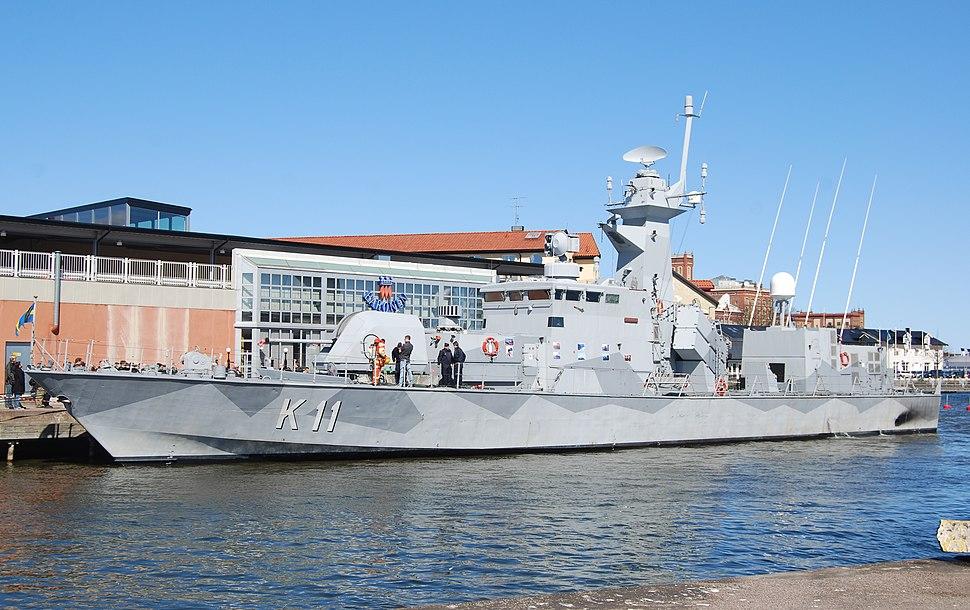 HMS Stockholm in Kalmar