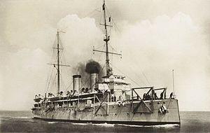 HNLMS Gelderland (1898) - Image: HNLMS. Gelderland (1897)