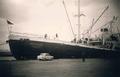 HSDG cargo motor ship Belgrano in Port Adelaide in November 1959.png