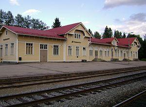 Haapamäki railway station - Haapamäki railway station