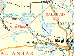 Haditha Iraq Map