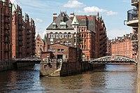 Hamburg, Speicherstadt, Wasserschloss -- 2016 -- 2890