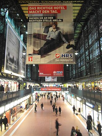 Hamburg Hauptbahnhof - The Wandelhalle