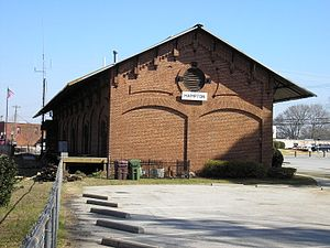 National Register of Historic Places listings in Henry County, Georgia - Image: Hampton Depot 2006