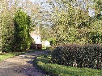 Hanningfield Green - Entrance to Hanningfields Farm.
