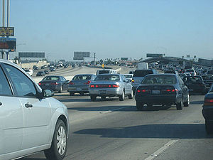 Automobile dependency - Traffic in Los Angeles