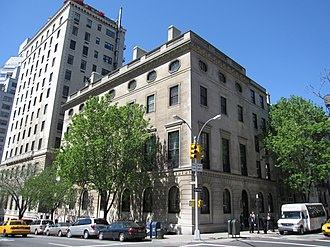 Council on Foreign Relations - CFR Headquarters, located in the former Harold Pratt House in New York City
