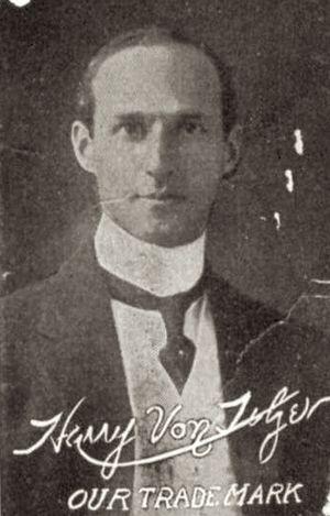Harry Von Tilzer - Image: Harry Von Tilzer