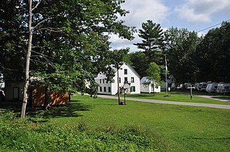 National Register of Historic Places listings in Windsor County, Vermont - Image: Hartford VT Advent Camp Meeting