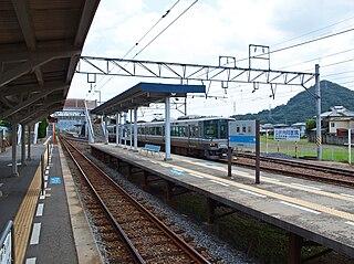Hashioka Station Railway station in Takamatsu, Kagawa Prefecture, Japan