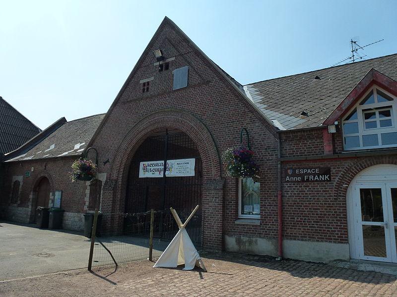 Haulchin (Nord, Fr) Espace Anne Frank