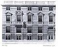 Haus Goltsteinstraße 15 und 16 in Düsseldorf, erbaut durch Kayser & von Grossheim aus Berlin im Jahre 1899, Aufriss.jpg