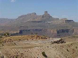 Enderta (woreda) - Image: Hauts plateaux entre Sekota et Mékélé (2)
