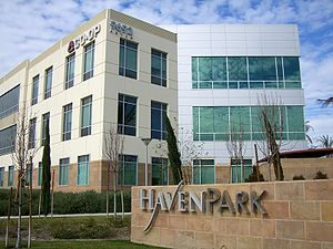 Rancho Cucamonga, California - An example of the office parks along Haven Avenue.