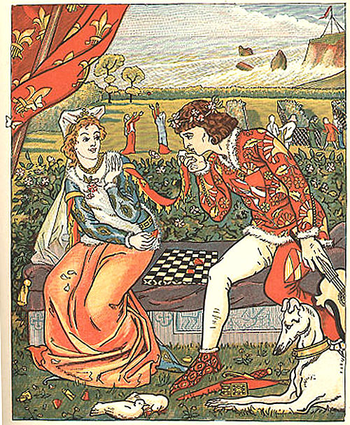 the tradition of courtly love in geoffrey chaucers franklins tale The franklin's tale is one of the canterbury tales by geoffrey chaucer it focuses on issues of providence, truth, generosity and gentillesse in human relationships.