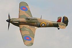 Hawker Hurricane I 'R4118 UP-W' (G-HUPW) (41455530471).jpg