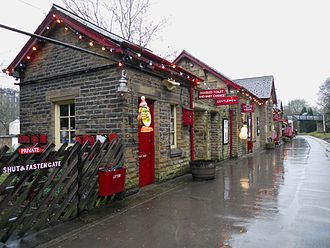 Keighley and Worth Valley Railway - Haworth Railway Station