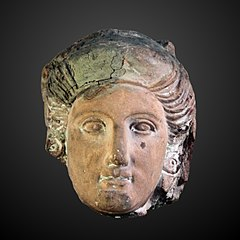 Head of a woman-N 3532