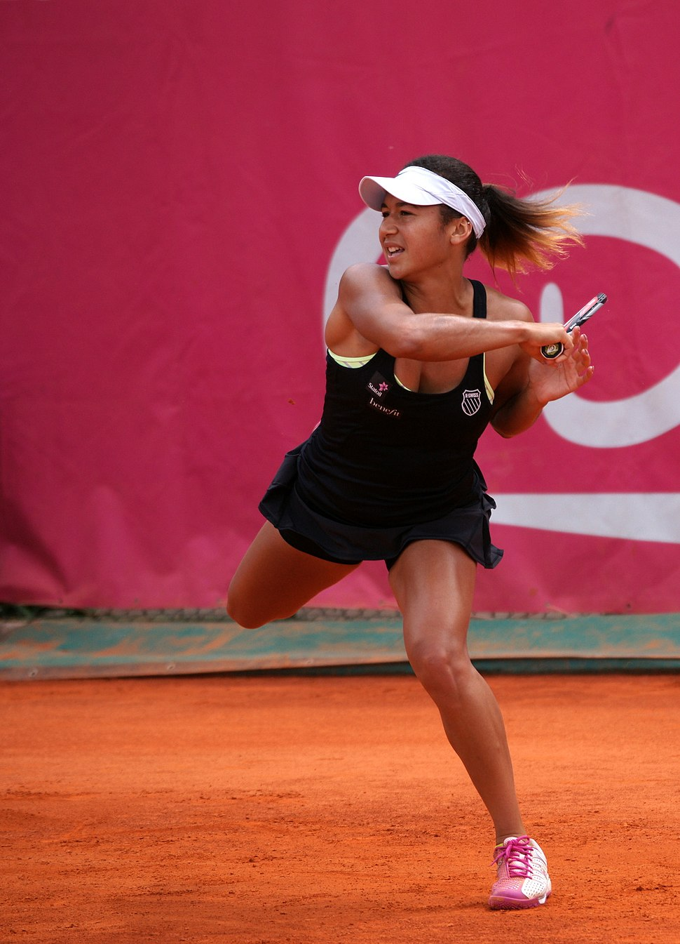 Heather Watson Cagnes 2014
