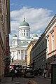 Helsinki, Cattedrale vista da Sofiankatu - panoramio.jpg