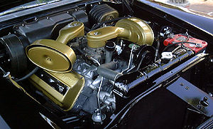 Chrysler Hemi engine - Early Hemi in a 1957 Chrysler 300C