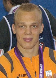 Henk Grol with his bronze medal at the 2012 summer Olympics (cropped).JPG