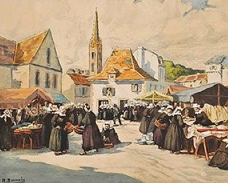 Henri Alphonse Barnoin - Image: Henri Barnoin Marché aux étoffes