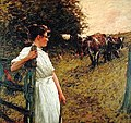 Henry Herbert La Thangue - Farmer's Daughter.jpg