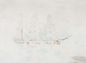 Henry Scott Tuke - Sailing ship.jpg