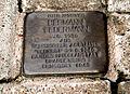 Hermann Federmann Jg. 1930 aus Wunstorfer Anstalten 'verlegt' 27.9.1940 Landespflegeanstalt Brandenburg ermordet 1940 Archivstraße 3 Hannover Calenberger Neustadt.jpg