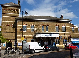 Herne Hill railway station - Image: Herne Hill Station Main 2012