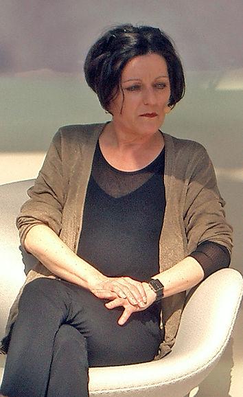 Herta Müller je librofoiro 2007 en Leipzig. Fotis: Amrei-Marie