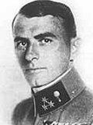 Adolf Heyrowsky - Heyrowsky in uniform