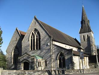Highfield, Southampton - Image: Highfield Church