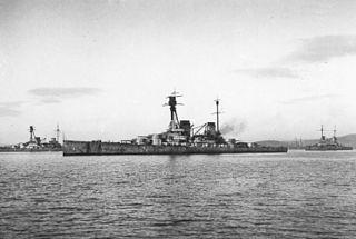 SMS <i>Hindenburg</i> battlecruiser of the German Kaiserliche Marine