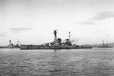 The German battlecruiser Hindenburg, the third ship of the Derfflinger class, was  interned at Scapa Flow in November 1918. The defeat of the German Empire in the First World War led to the High Seas Fleet's internment in Scapa Flow while the fate of the ships was decided, but on 21 July 1919 the fleet was scuttled. Hindenburg was raised in 1930 and broken up for scrap.