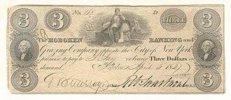 Robert Swartwout - Hoboken Banking and Grazing Company Bank Note